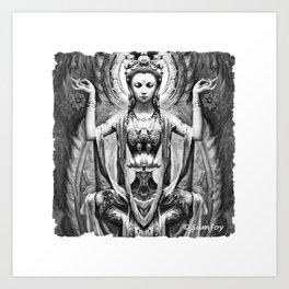 Goddess (5) Art Print