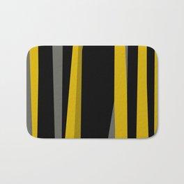 yellow gray and black Bath Mat