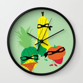 tropical gangsters Wall Clock