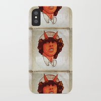 acdc iPhone & iPod Cases featuring ACDC   Highway to Hell by KVNCHRLZ