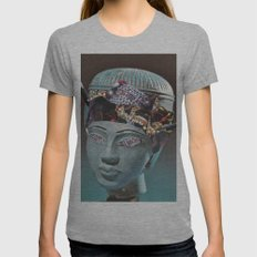 Apathy Womens Fitted Tee Athletic Grey SMALL