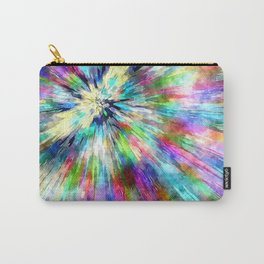 Colorful Tie Dye Watercolor Carry-All Pouch