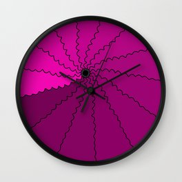 All of the Purple Wall Clock