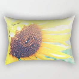 Sunflower Glow Rectangular Pillow