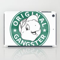 starbucks iPad Cases featuring Franklin The Turtle - Starbucks Design by CongressTarts