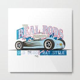hot rod teeshirt Metal Print