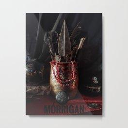 Mórrígan's Shrine Metal Print