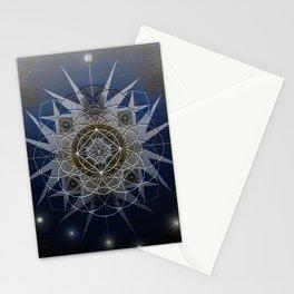 Starmaker Cosmos Mandala Print Stationery Cards