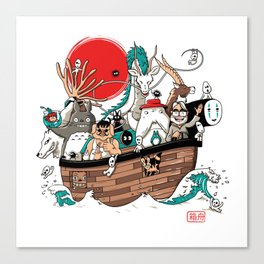 Ark's Miyazaki (version2018) Canvas Print