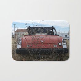 Beat Up Car Bath Mat