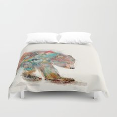into the wild (the grizzly bear Duvet Cover