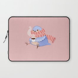 Cozy Canaries- Coffee Canary  Laptop Sleeve