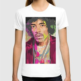 Jimi Hendrix Illustration T-shirt