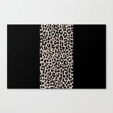 Leopard National Flag VI Canvas Print
