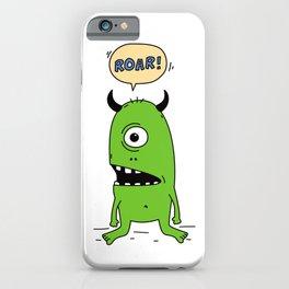 Roar! Monster! iPhone Case