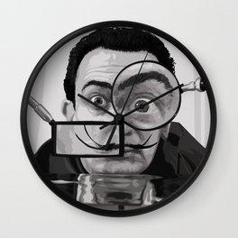 I AM DRUGS 1950 Wall Clock
