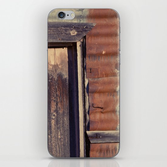 Rusted Corner iPhone & iPod Skin