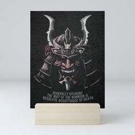 Miyamoto Musashi Quote, Samurai Ronin Mini Art Print