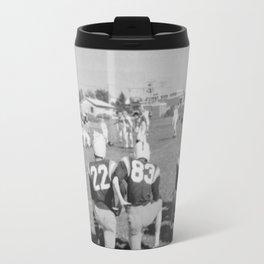 Old Lisle football stance Travel Mug