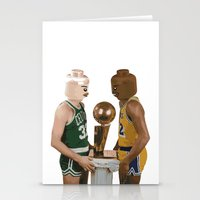 lakers Stationery Cards featuring lego magic by tbdaniel15