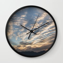 """Sunrise Horizon 1"" by Murray Bolesta Wall Clock"