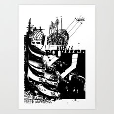 Thou Art Print