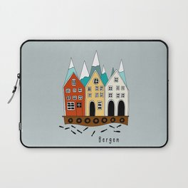 Norway Bergen Souvenir  Laptop Sleeve