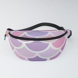 Purple Mermaid Pattern Fanny Pack