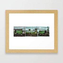 Ng143 engine triology Framed Art Print