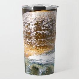 Colorful Water Drain Travel Mug