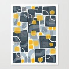abstact geometric Canvas Print