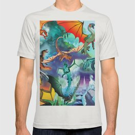 Wings Of Fire Character T-shirt