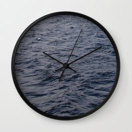 Wild waves in Loch Ness Wall Clock