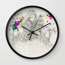 ECHOES by Peter Striffolino and Kris Tate Wall Clock