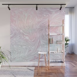 Holographic Silk I. Wall Mural