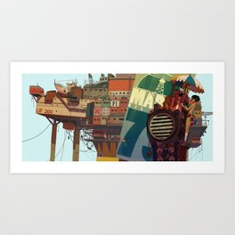0_R Art Print