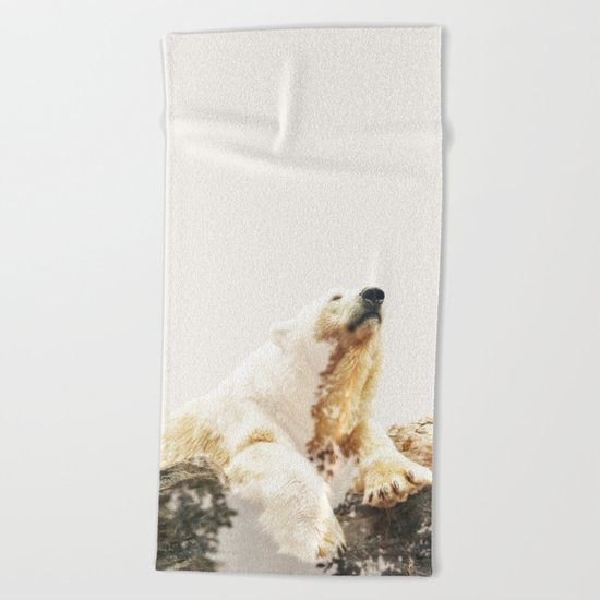 Bear a Charmed Life #society6 #decor #buyart Beach Towel