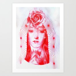 Delta of Venus no 5 Art Print