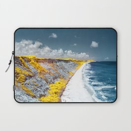 Cliff Panorama Photo Print Laptop Sleeve