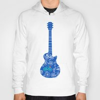 rock n roll Hoodies featuring rock 'n roll by Julia Minasian