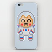 8bit iPhone & iPod Skins featuring 8Bit Astrobear by Bear Picnic