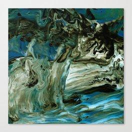 Granite Waterfall Canvas Print