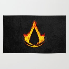 Creed Assassin Flame Rug