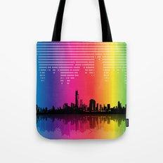 Urban Rhythm Tote Bag