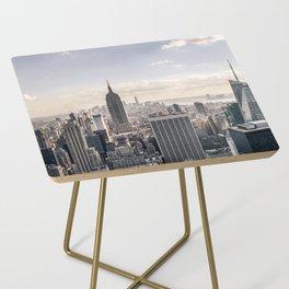 NYC Skyline Side Table
