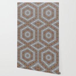 Hammered Diamonds Wallpaper