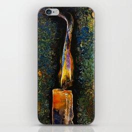 Candle Flame iPhone Skin