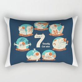 Cats Seven deadly Sins Rectangular Pillow