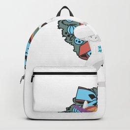 cute unicorn dabbing christmas  Backpack
