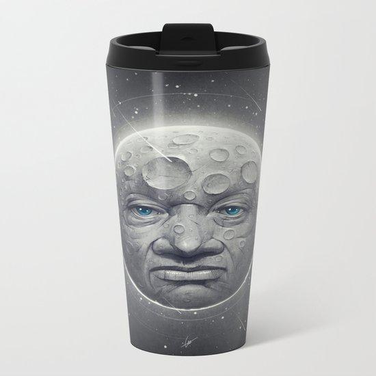 The Moon Metal Travel Mug